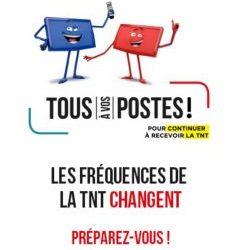 CHANGEMENTS DE FRÉQUENCES DE LA TNT