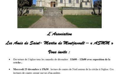Les amis de Saint-Martin de Montjavoult font vivre notre église pendant les fêtes