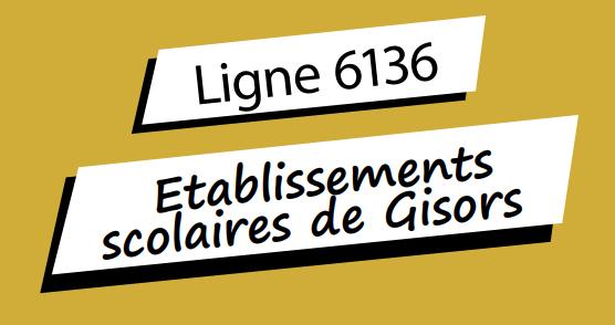 Horaires bus: Lycées de Gisors