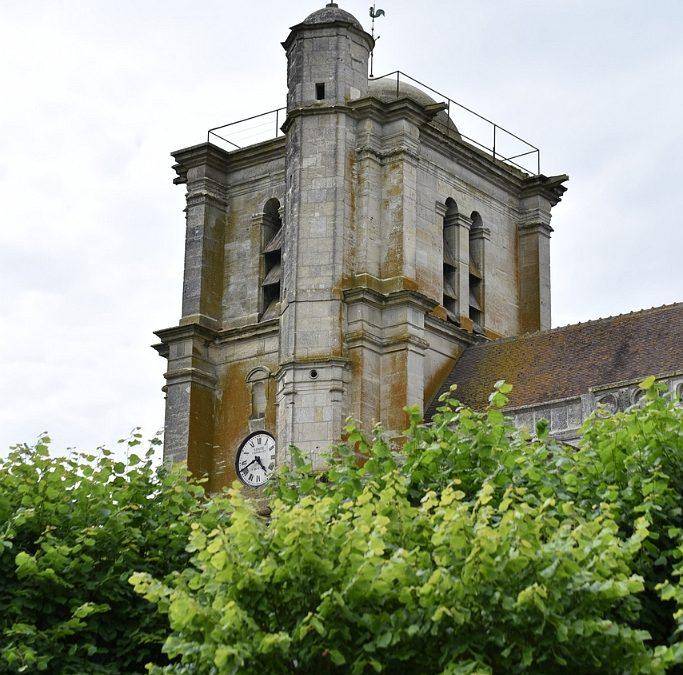 Accès à l'église