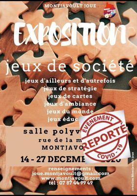 Montjavoult Joue: L'exposition du 14 au 17 décembre est reportée